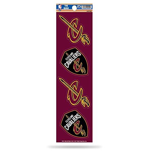 Rico NBA Cleveland Cavaliers Quad (Cavalier Sticker)