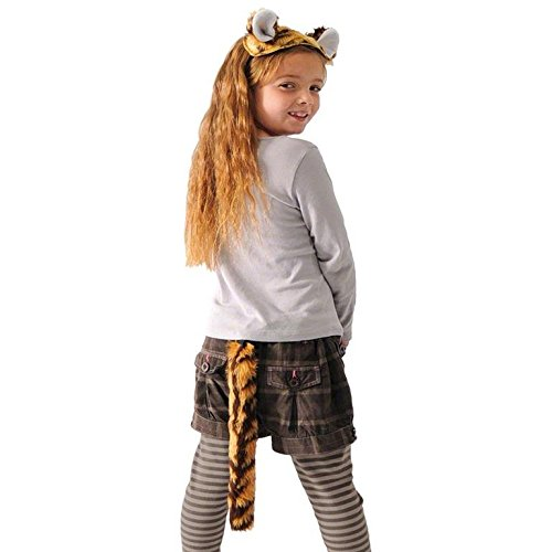 Tiger (Lion Ears And Tail Costume Uk)