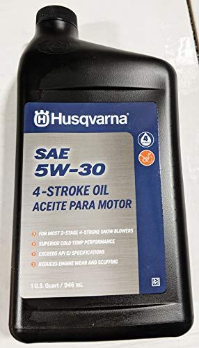 Husqvarna 32-oz 4-Cycle 5W-30 Snow Blower Engine Oil 593153503