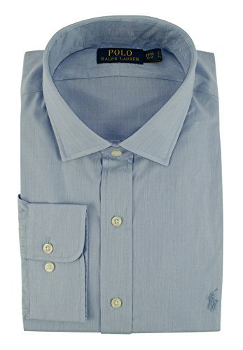 Polo Ralph Lauren Men's Estate Hairline Stripe Shirt (14.5(32-33), -