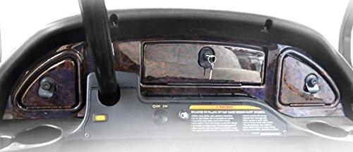 Car Club Dash Precedent (Madjax Wood 2008-Up Grain Dash fits Club Car Precedent Golf Carts)
