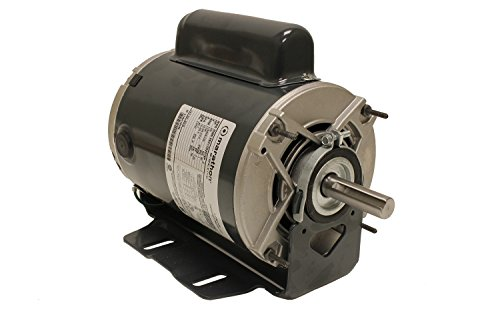 Marathon B319 Fan and Blower Motor, Single/Split Phase, Protection - Auto, 3/4 hp, 1725 rpm, 115/208-230V, 10.0/5.2-5.0 amp - Fan Motor Single