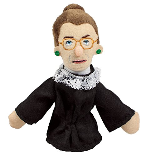 The Unemployed Philosophers Guild Ruth Bader Ginsburg Finger Puppet And Refrigerator Magnet   For Kids And Adults