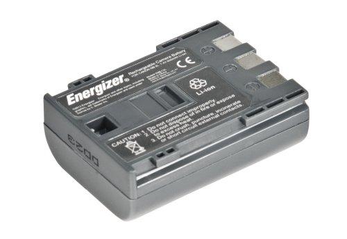 Energizer ENB-C2L Digital Replacement Battery NB-2L for Canon PowerShot G7, G9, S40, S50, S60, S70 and S80 (Black) ()