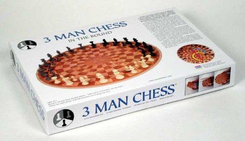3 Personen Schachspiel