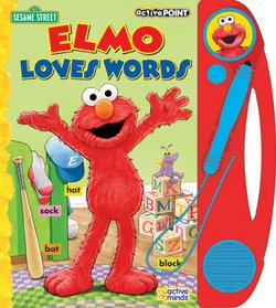 Sesame Street: Elmo Loves Words (Interactive Learning Book)