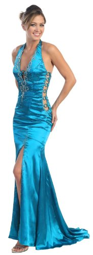 US Fairytailes Prom Dress New JR Long Tail Back Gown #2582