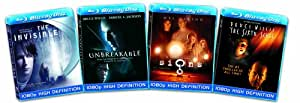 Blu-ray 4-Pack: Thrillers (The Invisible / The Sixth Sense / Signs / Unbreakable)