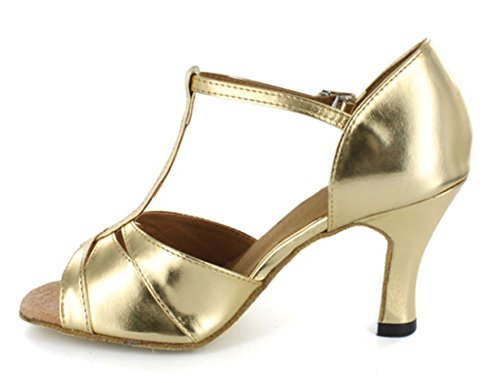 TDA - salón mujer dorado