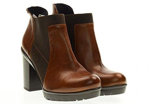 CALLAGHAN botas de los zapatos de las mujeres con tacones 99814.1 Cuero