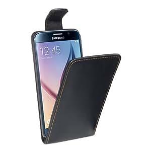 PEDEA Flip Cover para Samsung Galaxy S6, negro - apropiado para GALAXY S6 G920F