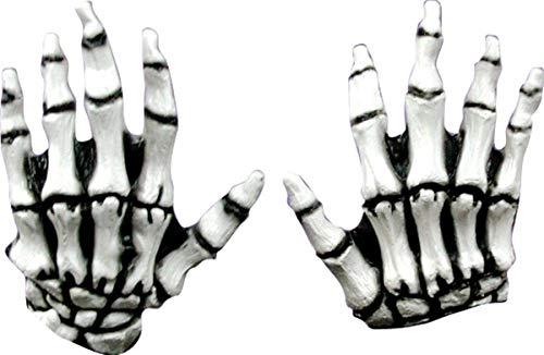 Junior White Skeleton Hands - ST -