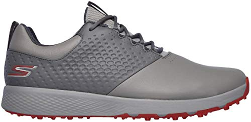Skechers Mens 2020 Golf Elite 4 Spikeless Waterproof Leather Upper Golf Shoes