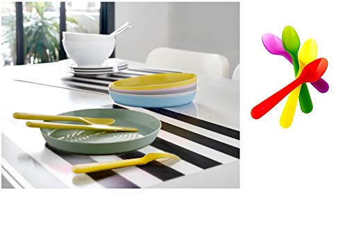 Ikea Kalas Plate (Mixed Assorted Colours) – Set of 6 Price & Reviews
