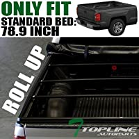 Topline Autopart Lock Roll Up Soft Vinyl Truck Bed...
