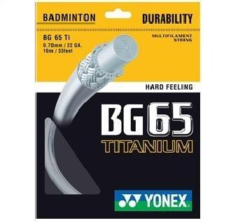 Yonex BG 65 Ti Titanium Badminton String – DiZiSports Store