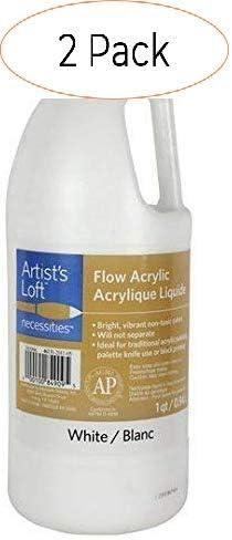 Artist's Loft Flow アクリル 32 ホワイト (オリジナルバージョン) (オリジナルバージョン) Pack 2 SG_B079TZ5SJD_US