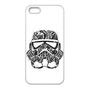 funda iPhone J3W46 Star Wars Darth Vader S9M8KN 4 4s funda caja del teléfono celular cubre KO6XEV0UK blanco