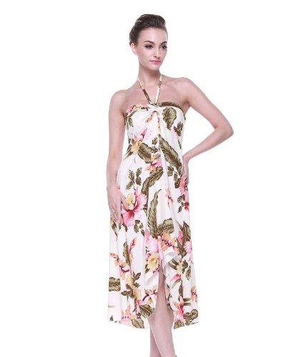 Tropical Group Womens Hawaiian Butterfly Dress