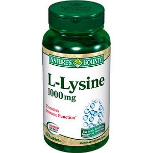 Bounty L-Lysine de la nature--1000