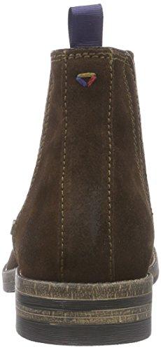Wrangler Stone Chelsea, Bottes Classiques Homme Marron (30 Dk.brown)