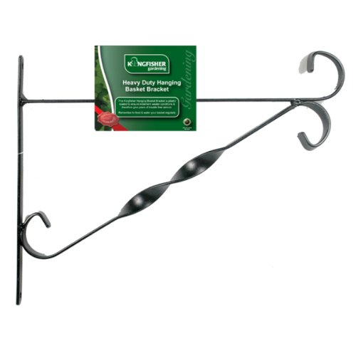 Kingfisher HBB12B 12-Inch Hanging Basket Bracket King Fisher