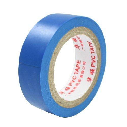 eDealMax 2 Diámetro 0,6 Anchura adhesiva aislante Cinta eléctrica Azul