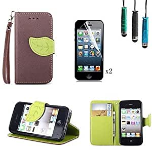 YULIN iPhone 4/4S/iPhone 4 compatible Novelty Case with Kickstand , Green