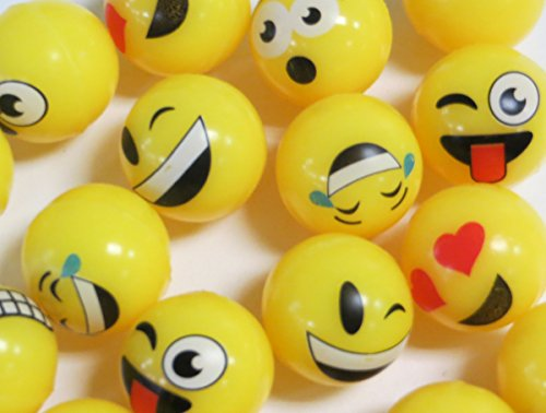 Edison Novelty Emoji High Bounce Balls (20 Per Order) -