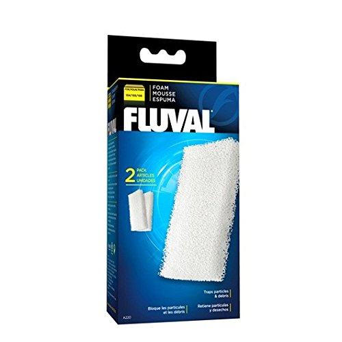 (Fluval Filter Foam Block 104/105 Models (2)