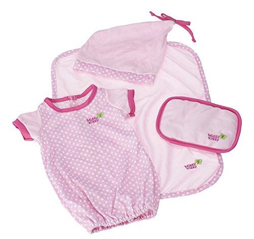 JC Toys JC Toys Pink Sleep Sack Set 4 Piece for