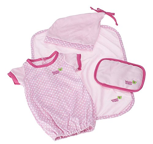 JC Toys Pink  Set (4-Piece) - Patch Clothes Cabbage Newborn