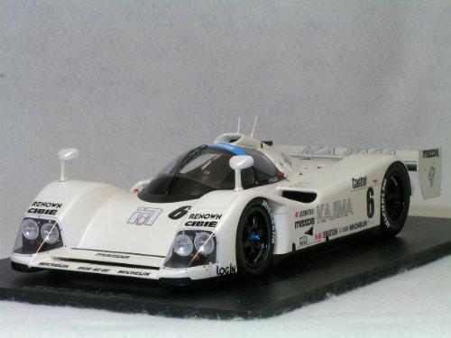 1/18 Mazda MXR-01 No.6 Le Mans 1992(ホワイト) 18S044