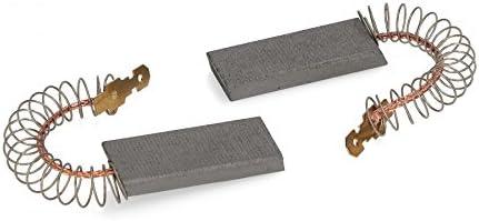 Carbón, Escobillas 13,5 x 5 x 43 mm/4,8 mm Apto para lavadora ...
