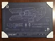 Best Buy Exclusive Destiny 2 Coldheart Exotic Rifle Mounted Print