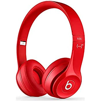 Beats Solo2 Wireless On-Ear Headphone - Red (Old Model)