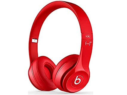 3b75f1a6592 Image Unavailable. Image not available for. Color: Beats Solo2 Wireless On-Ear  Headphone - Red (Old Model)