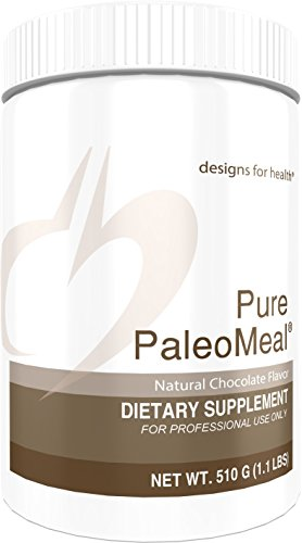 - Designs for Health Chocolate Bone Broth Protein Powder - Pure PaleoMeal Chocolate, 17g Protein with Active Folate + Chelated Minerals (510g / 15 Servings)