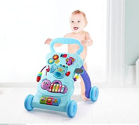 auflern carro Andador bebés evitar Rollover multifunción con ...