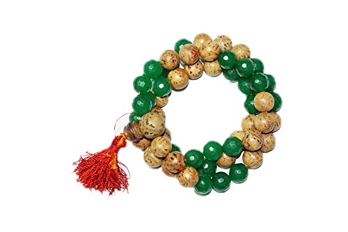 Mogul Intérieur Méditation Japamala Chakra Malabeads amour prospérité Collier Mala ...