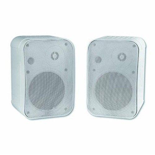Omnitronic Control 1 30W Blanco altavoz - Altavoces (De 2 vías, Alámbrico, Terminal, 30 W, 50-18000 Hz, Blanco)
