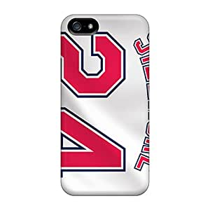 Awesome ZfJ3463cWqP Randolphfashion2010 Defender Hard Cases Covers For Iphone 5/5s- Cleveland Indians