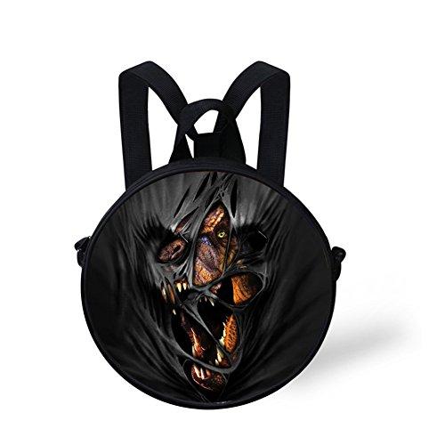 Backpack Bag Round Women Nyec0424i FancyPrint and Crossbody Animals Print Round for Girls UnRwxaCv