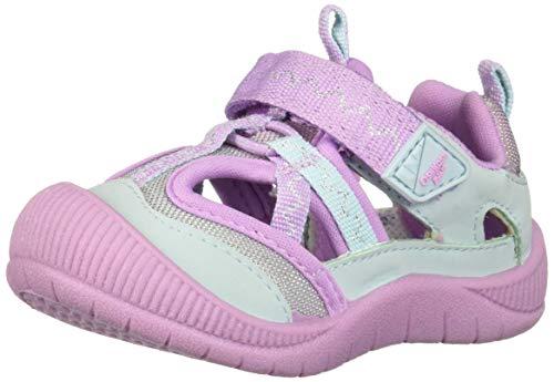 OshKosh B'Gosh Kani Girl's Mesh Athletic Bumptoe Sneaker, Light Purple 7 M US Toddler from OshKosh B'Gosh