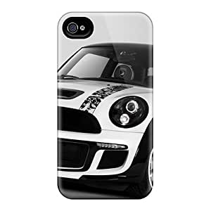 Quality Adamfy11 Case Cover With Mini Cooper S Bully Nice Appearance Compatible With Iphone 4/4s