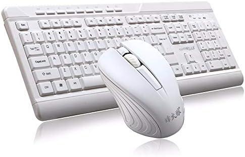 Teclados Zariavo Juego de ratón, Juego de Teclado y Mouse USB 2.4G inalámbrico para Juegos para PC portátil