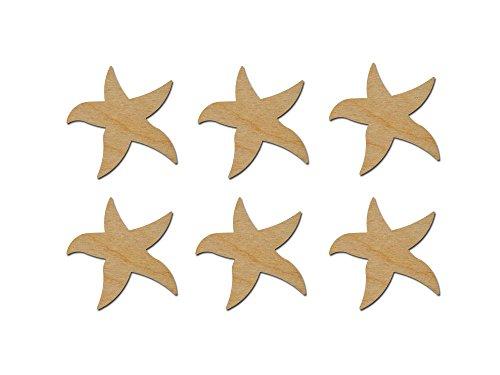 - Starfish Cut Outs Unfinished Wood Mini Crafts 3