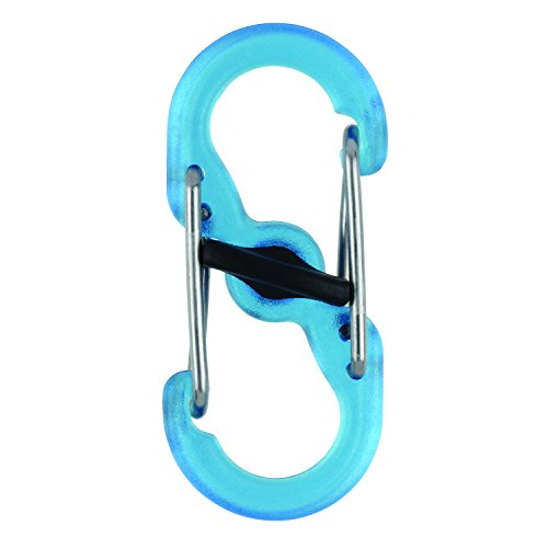 (Nite Ize S-Biner MicroLock Polycarbonate - 2 Pack - Blue)
