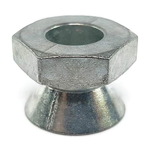 Break Away Nuts Tamper Proof Security Shear Nuts Zamak 5 Zinc 1/2''-13 QTY 25