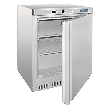 Polar Under Counter - Congelador comercial (140 L), color blanco ...
